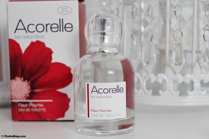parfum naturel acorelle fleur poivrée