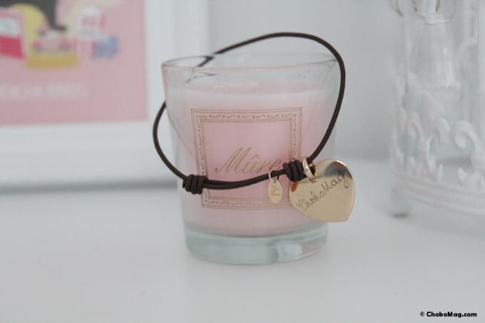 bracelet or merci maman personnalisé