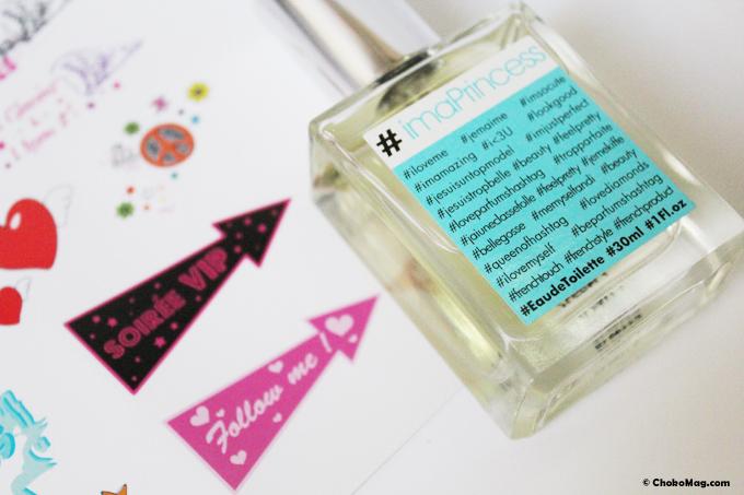 parfum hashtag i am princess parfum pas cher