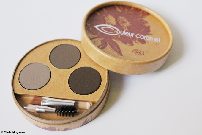 kit regard sourcils couleur caramel