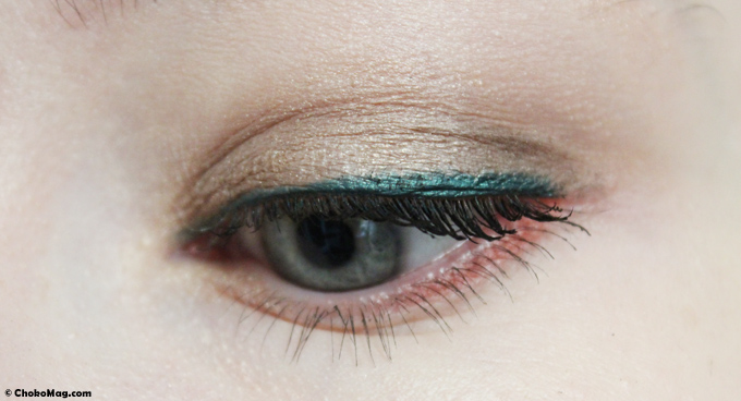 make up etam palette semainier du regard