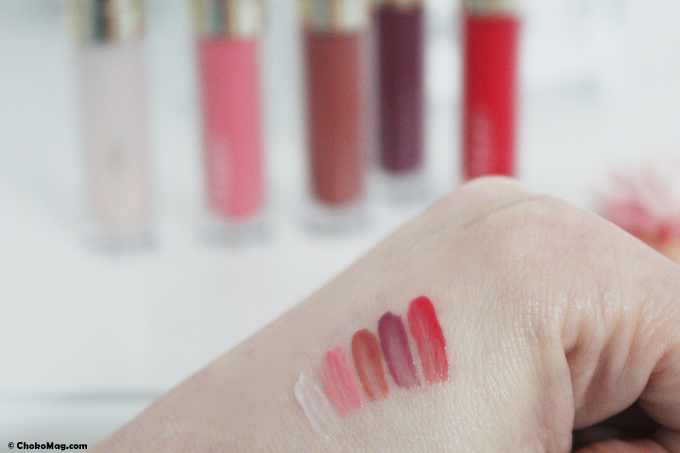 swatch couleurs gloss baume de rose édition noel 2014 by terry