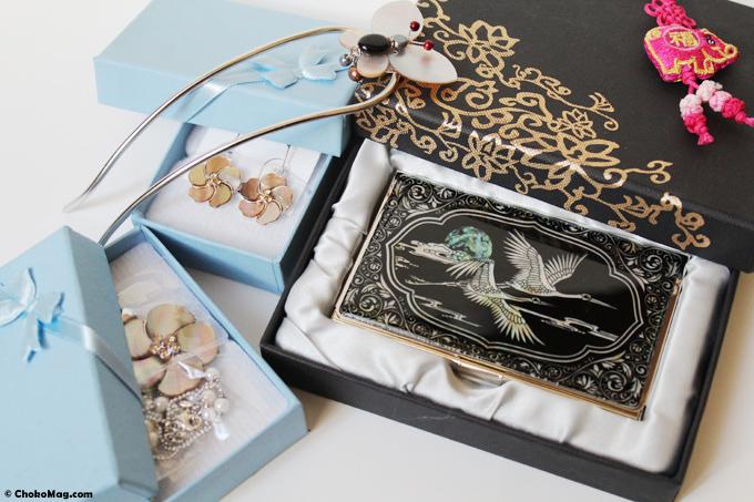 tresors de corée bijoux de nacre