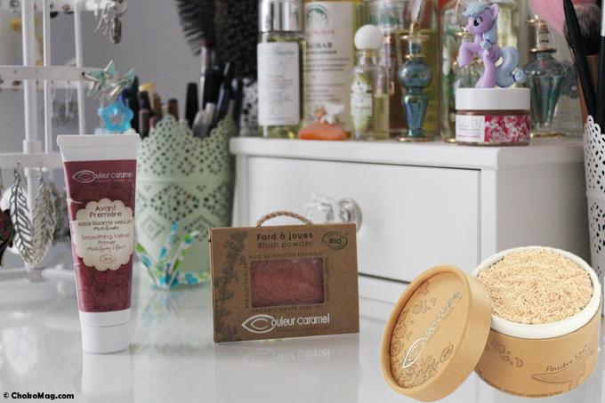 concours produits pour le teint couleur caramel bio