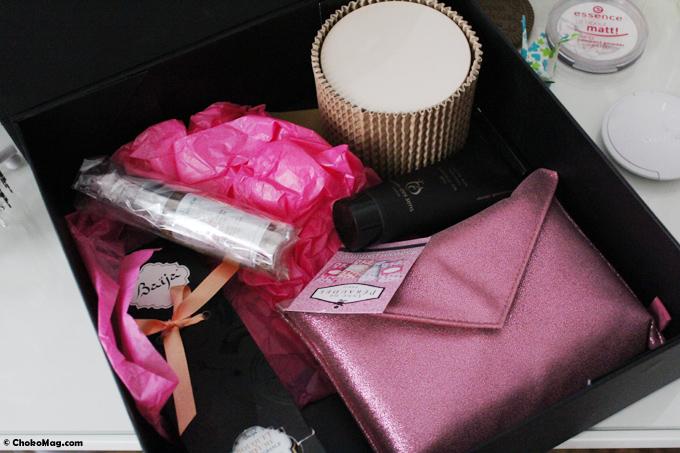 box beauté secrets d'orient