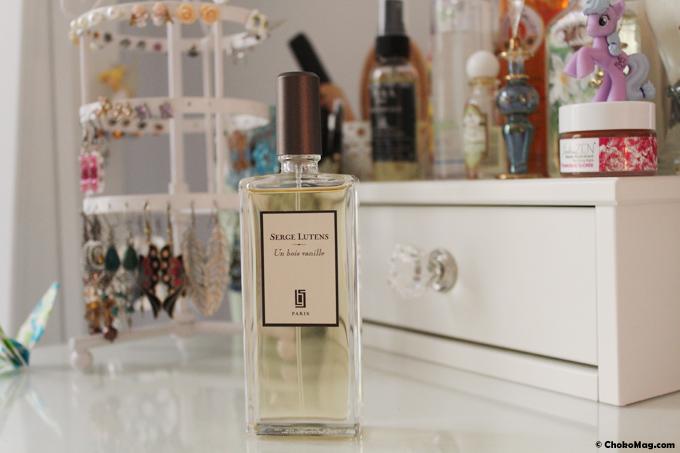 un bois vanille parfum de niche serge lutens