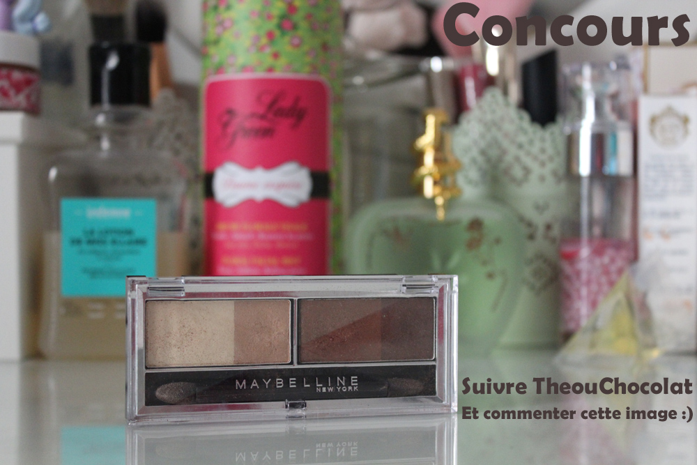 concours palette neutre gemey maybelline