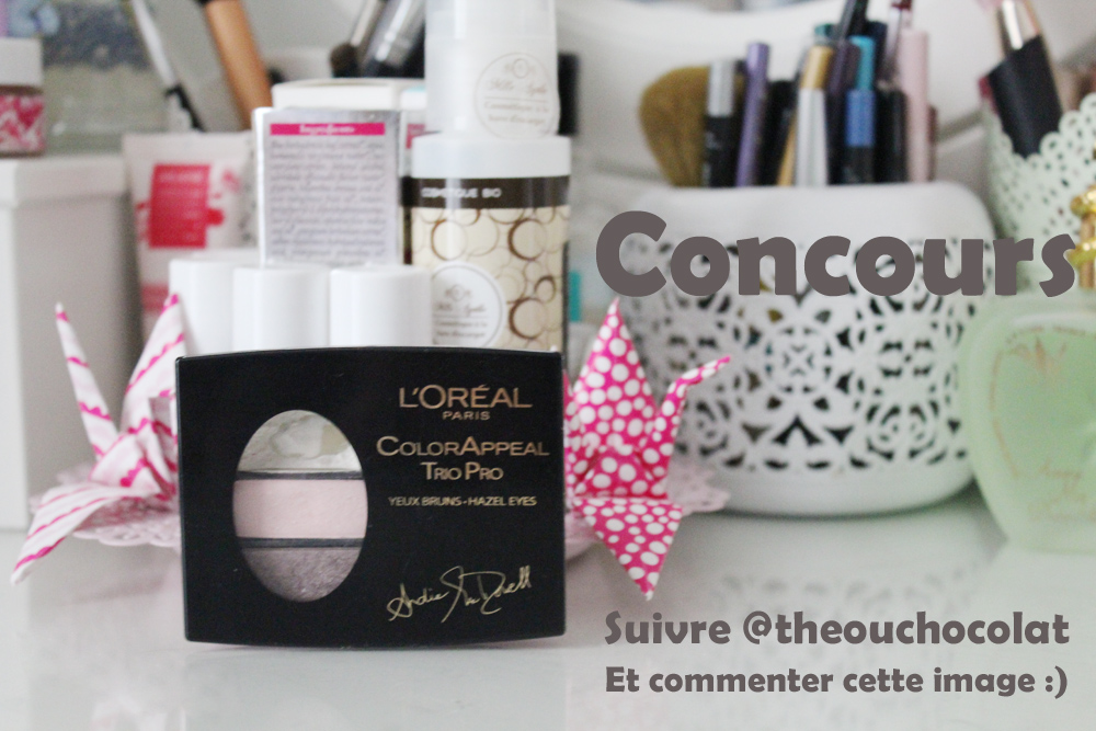 concours palette color appeal andie macdowel loreal