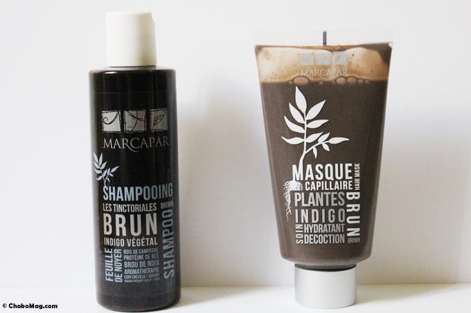shampooing et masque plantes pour cheveux brun marcapar - Coloration Cheveux Marcapar