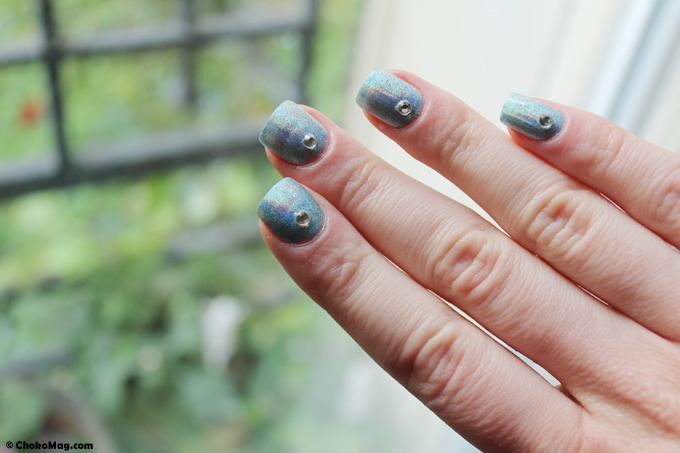 vernis à ongles holographique layla nailpolish mermaid spell