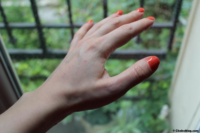 debut lucite estivale leb sur les mains