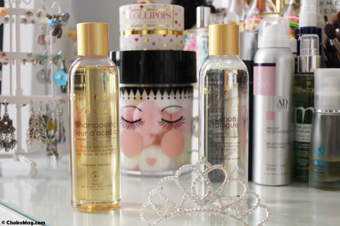 concours abellie lotion et shampooing