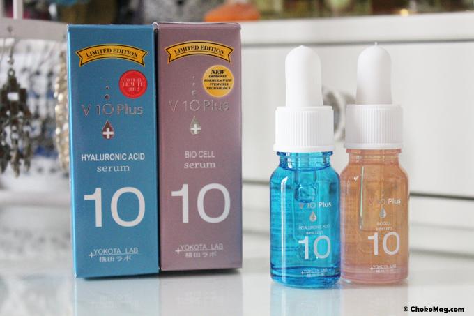 v 10 + serum