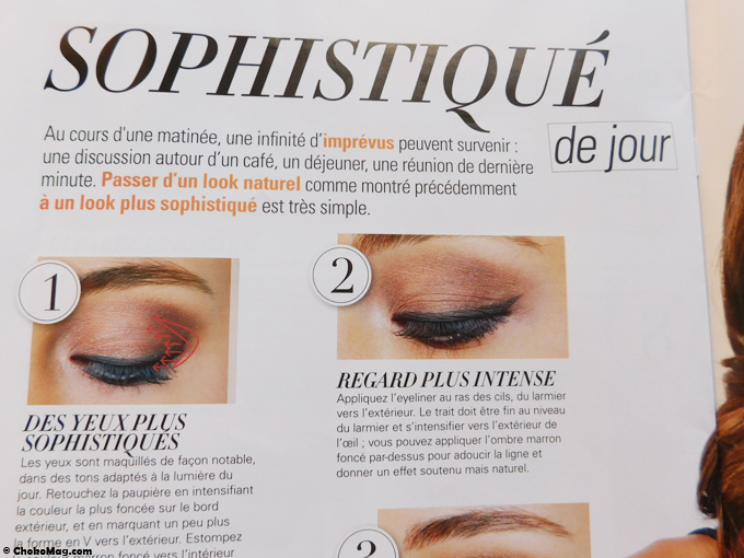 make up tendance