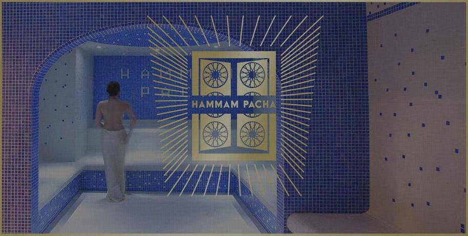 Salle vapeur du hammam pacha
