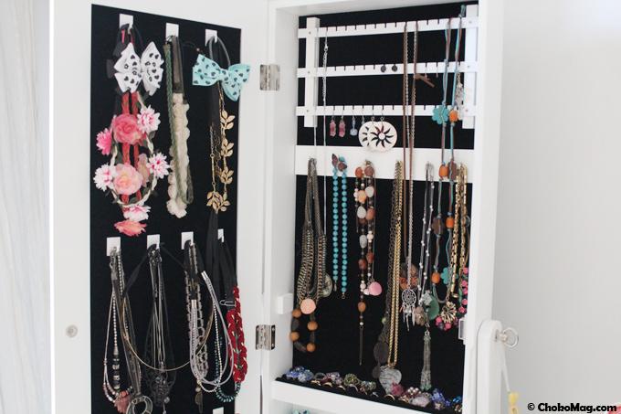 87dd3d83e14f3 Armoire à bijoux conforama  le meuble armoire range bijoux miroir ...