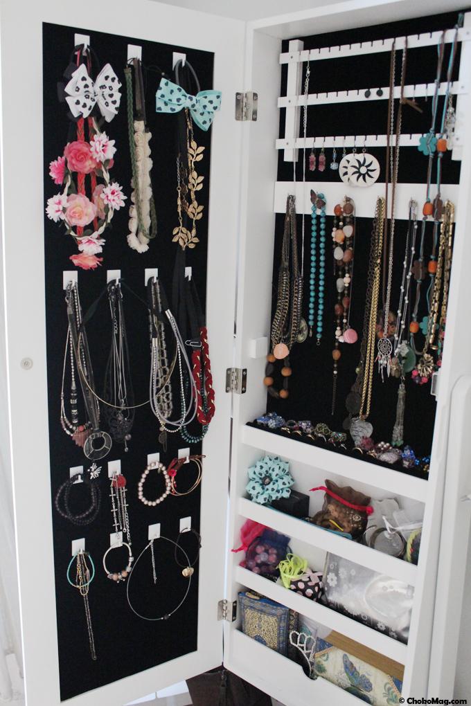 RoomTour #2] Comment agrandir son armoire range bijoux? - ChokoMag