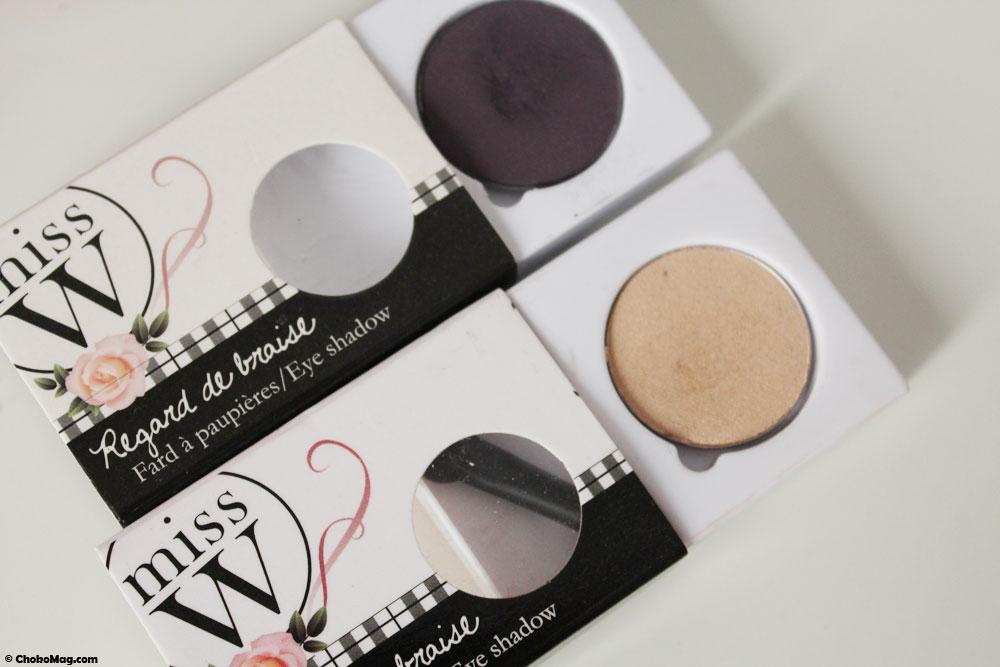 Missw nouveaux fards paupi res bio individuels chokomag - Palette maquillage aimantee ...