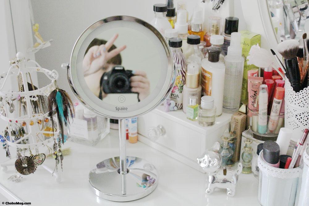 spaire nouveau miroir sur pied r tro clair chokomag. Black Bedroom Furniture Sets. Home Design Ideas