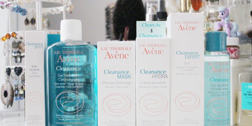 gamme clean-ac renommée cleanance par avene