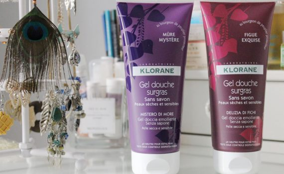 gels douche klorane fruits