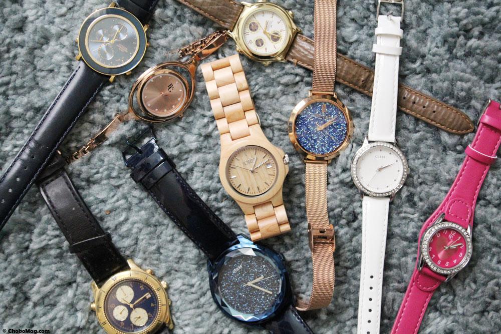 collection montres à quartz
