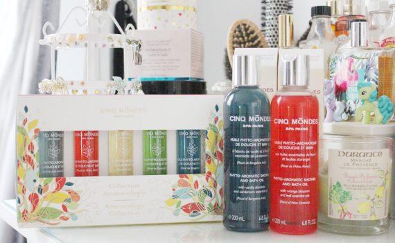 cinq mondes huiles de douche