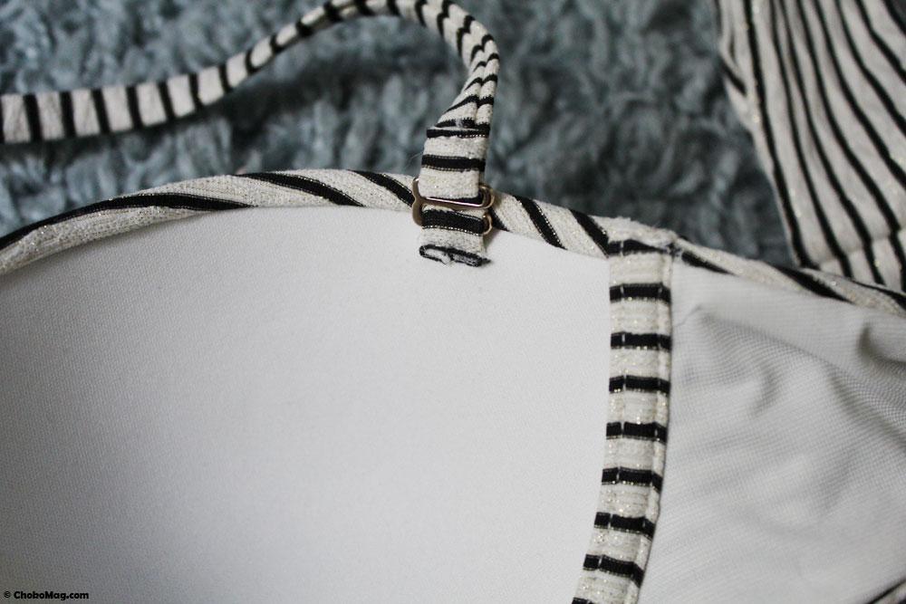 bretelle amovible soutien gorge bandeau maillot de bain