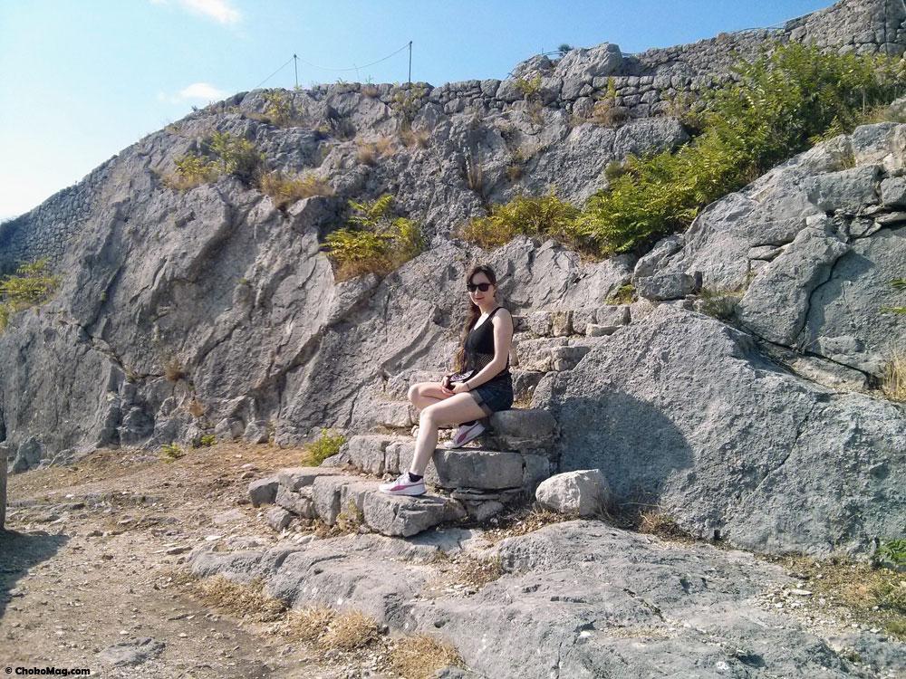 look chateau de klis en croatie