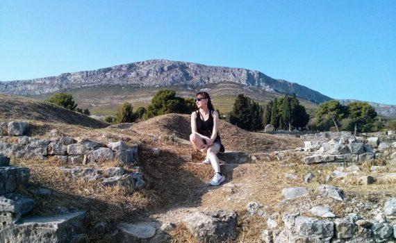 visite des ruines romaines de solina en croatie