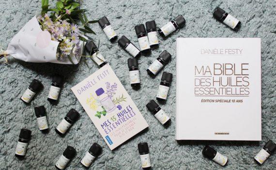 nouveaux livres de danièle festy: ma bible des huiles essentielles version enrichie et illustrée spéciale 10ans et se soigner avec les huiles essentielles