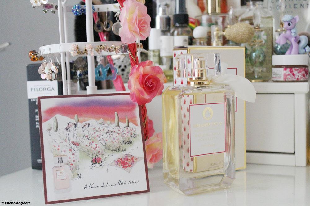 parfum heloise de v a l'heure de la cueillette