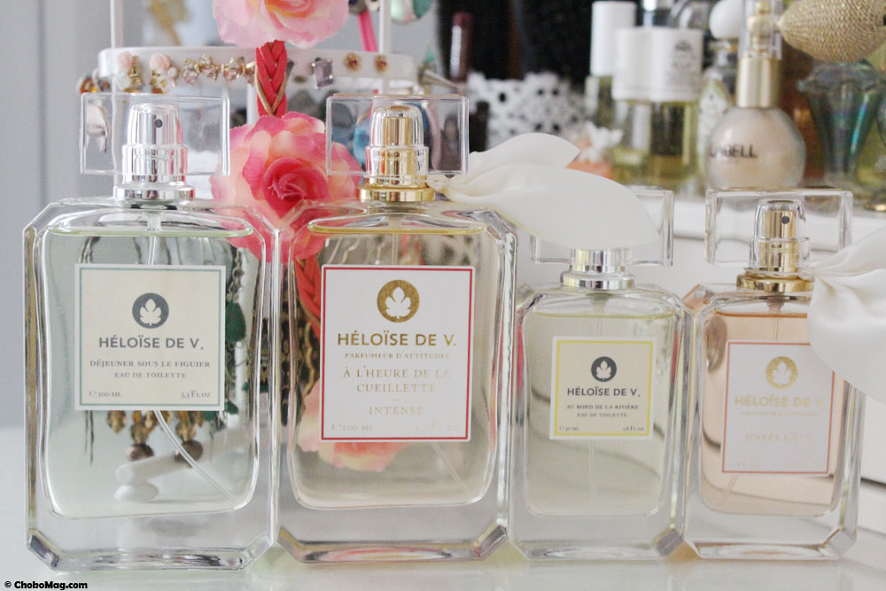 collection de parfums heloise de v