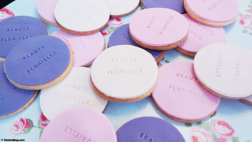 biscuits faits mains pour la soirée de remise des prix de la beauté plurielle
