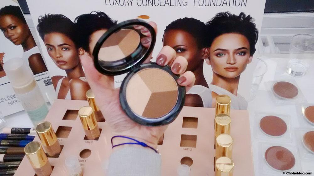 maquillage poudre trio contouring iman cosmetics