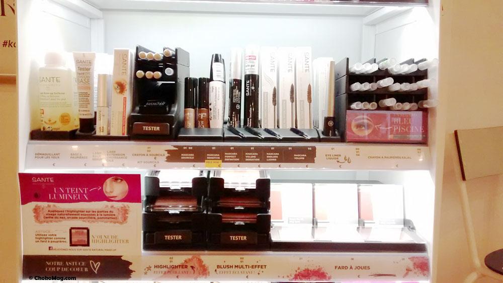 Nouveaux produits de maquillage des yeux bio chez sante naturkosmetik