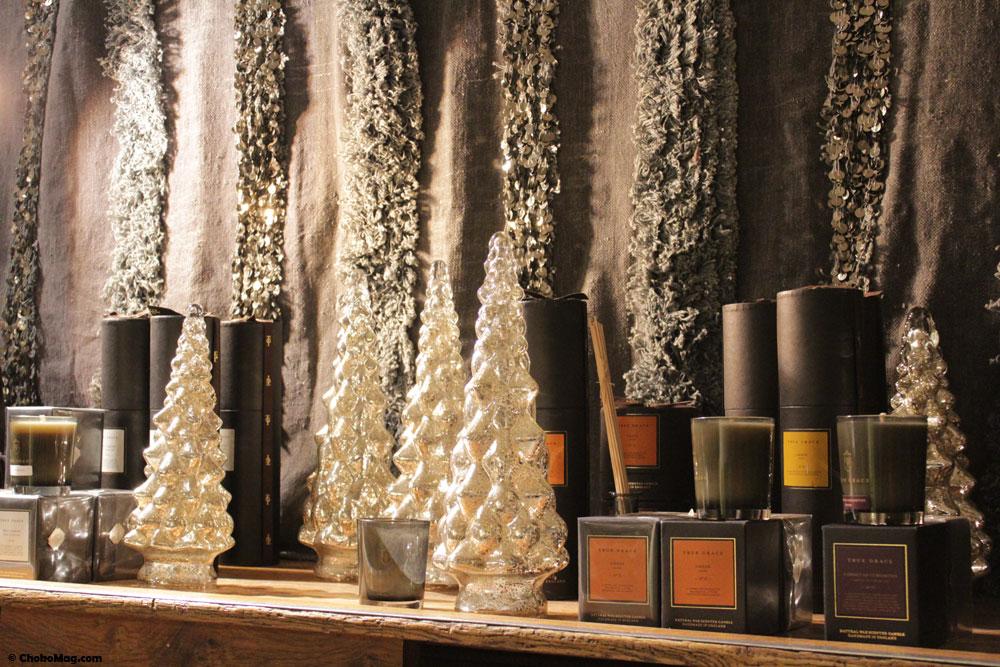 bougies et décoration borgo delle tovaglie