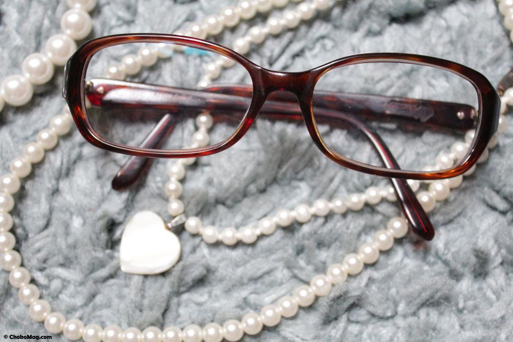 lunettes retro chic ecailles