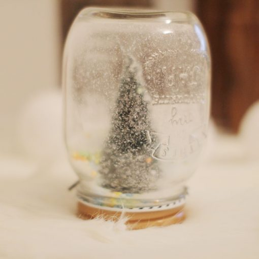 diy mason jar de noel décorative