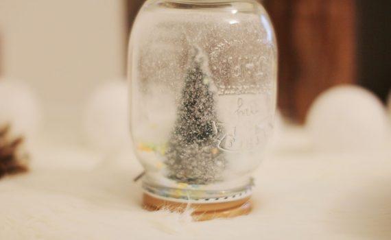 diy mason jar de noel décorative