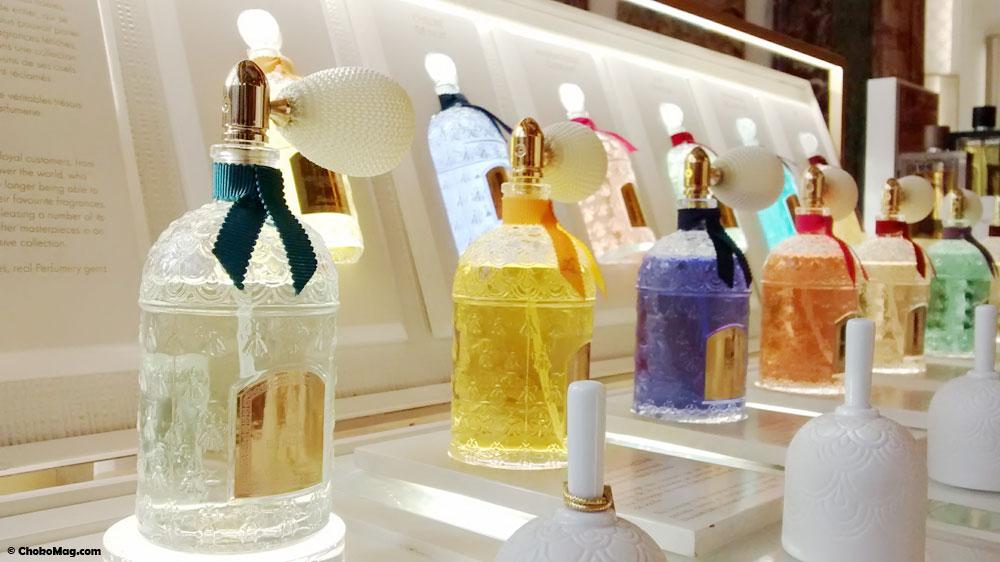 parfums exclusifs les parisiennes guerlain