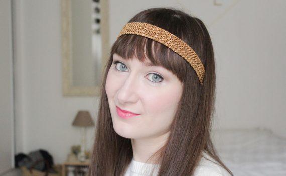headband coiffure rétro