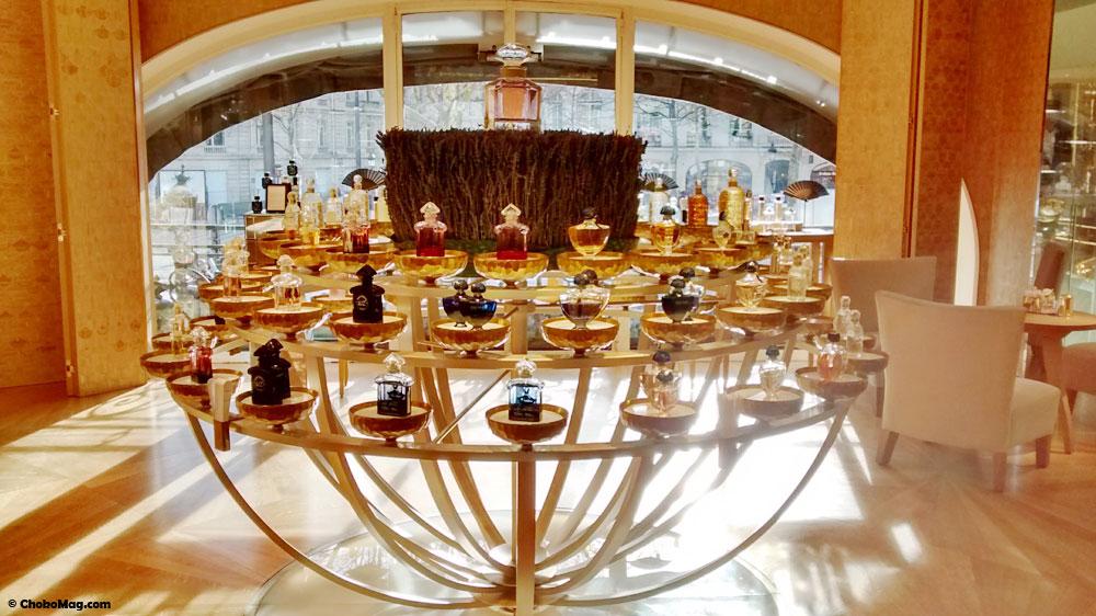 orgue à parfum maison guerlain