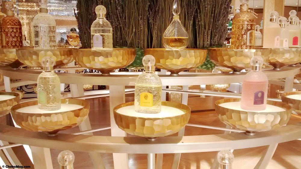orgue à parfums