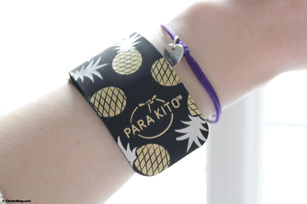 nouveau bracelet anti moustique parakito