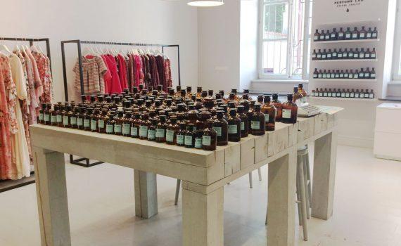 Concept store de parfums sur mesure Mo61 à Cracovie