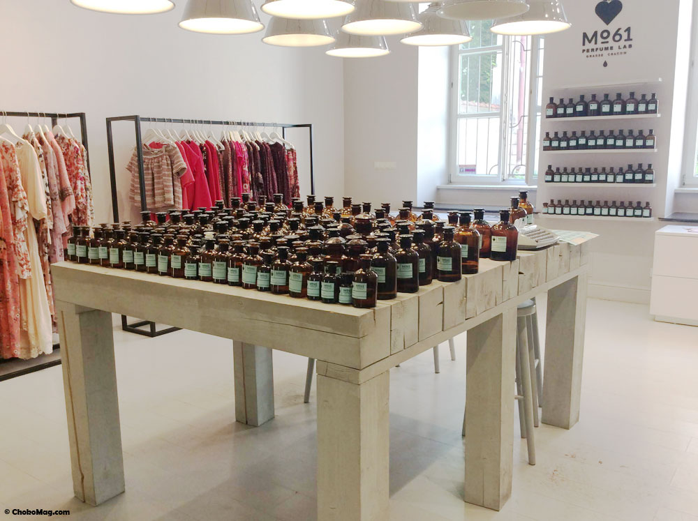 Concept store de parfums sur mesure Mo61 à Cracovie