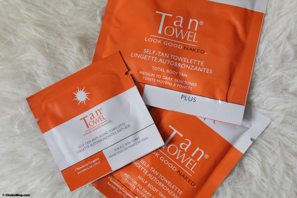 Les lingettes Tan Towel