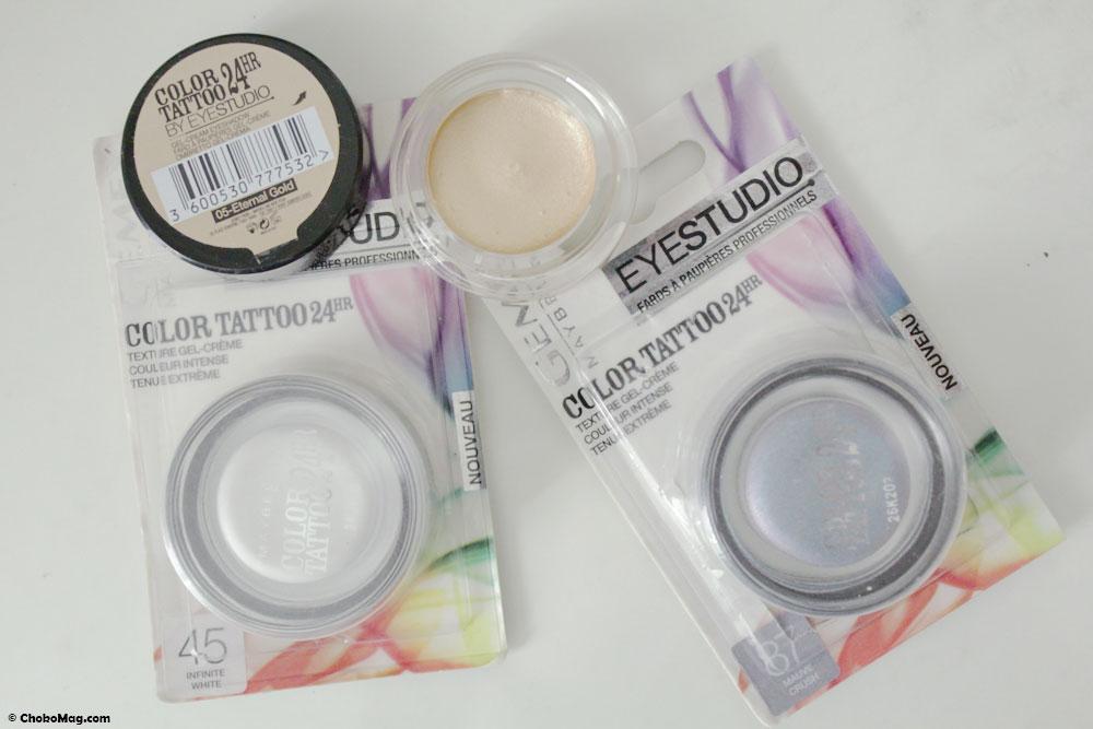 Color Tatoo à 3,50€