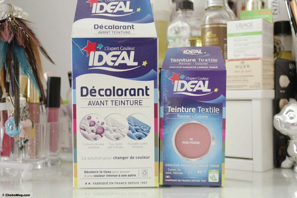 Colorant et décolorant ideal